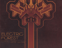 Electric Forest Poster Contest for Creative Allies