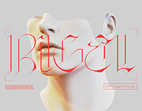 Rigel Typeface