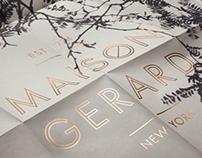 Maison Gerard - Identity Design