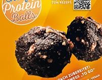 SPAme Protein Balls Flyer