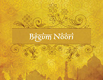 Begum Noori Menu Card