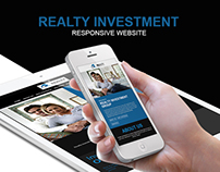 Realty Investment - Responsive website