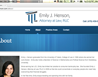 Emily J. Henson: Website