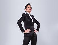 Actress Yasmin Raeis for Kelmetna magazine
