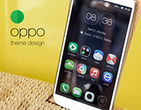 oppo phone theme design