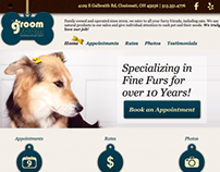 Groom Room Web Design