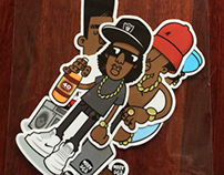 Evolution Of The B-Boy - Series 1 Sticker Packs