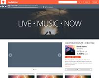 The Radiobox Homepage Evolution