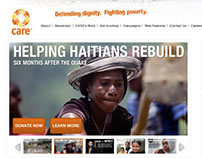 CARE.org  Front-End Design & Development
