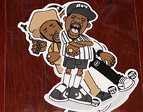 Evolution Of The B-Boy - Series 2 Sticker Packs