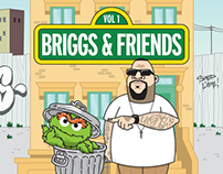 Briggs & Friends Volume 1 CD Design