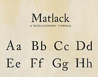 Typeface: Matlack