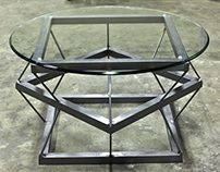 Staggered Square Coffee Table