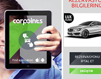 CARPOINTS / logotype / web & app design