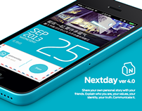 NEXTDAY iOS App Design