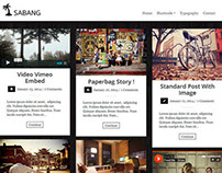 Sabang - Grid Blog WordPress Theme
