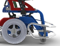 Redesign- Hockey wheelchair