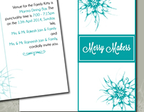 Invitation for Merry Makers group