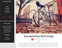 Krakatau - Modern Blog WordPress Theme