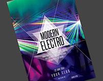 Modern Electro Flyer
