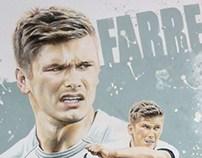Sports Art - Owen Farrell