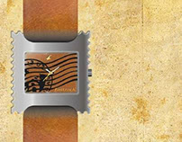 Watch Design for Fastrack/ Inspiration Postage Stamp