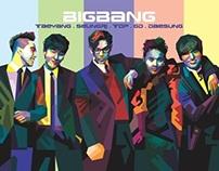 #16 BIGBANG POPART POTRAIT