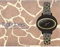 Watch Design / Inspiration Giraffe