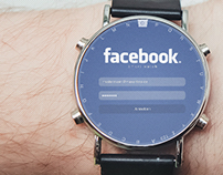 Facebook for smart watch (WIP)