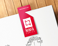 Ninfa Comics Branding