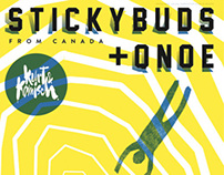Kurt & Komisch | Stickybuds + Qnoe