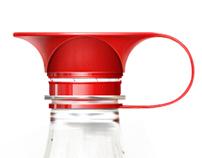 Cappy — pet bottles cap design concept