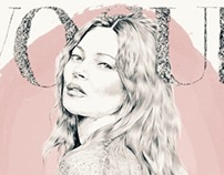 kate moss Topshop and Vogue
