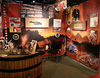 Scotch Whisky Experience - EXPO event stand