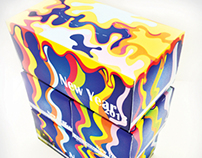 New Year Tissue Box Packaging