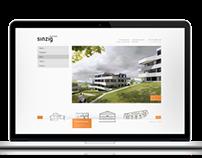 Sinzig + Partner Webdesign