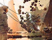Apollo's 50th Anniversary-Adobe Dimension Project