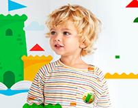 """Айдентика для детского сада """"Маленькая страна"""""""