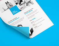 Creative Design Company Flyer