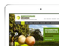 Worcestershire Orchards Website Mockup
