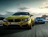 BMW M4 Motorsport CGI Campaign 2015 - Shot 1