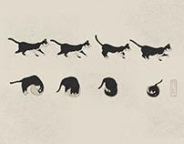 El gato y la pecera