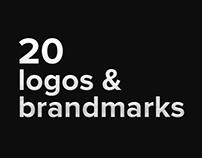 20 logos and brandmarks 2016