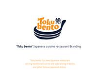 'TOKU BENTO' branding