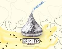 O chocolate dos melhores momentos - Hershey's