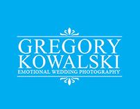 Gregory Kowalski Emotional Wedding Photography Logo 2