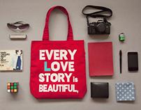 2014 JUZI Printing Handbag