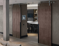 Kolenik for Bod'or Door design