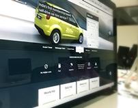 Self drive car booking site