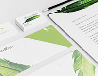 Reclaimed Roost Logo | Business Cards + Stationary Set